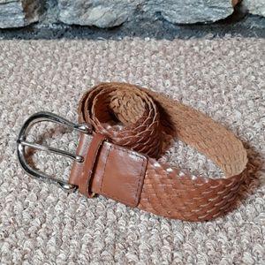 Michael Kors leather belt sz medium